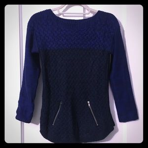 Women's Royal Blue Cable Knit Sweater on Poshmark